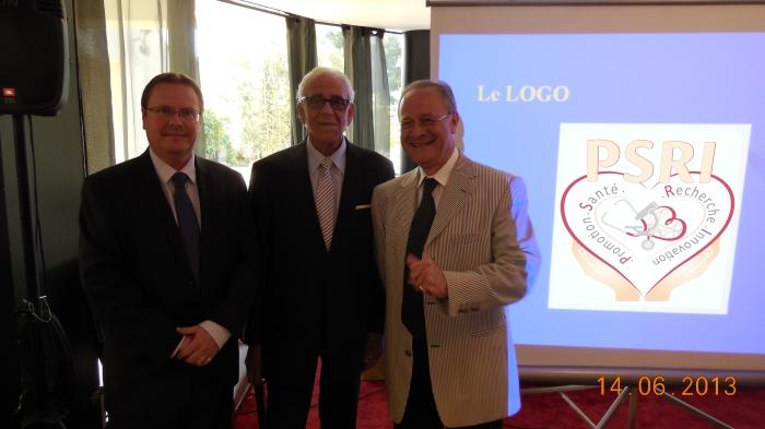 Les membres fondateurs : S.Karavaeff , J-C.Nestiri et G.Benayoun